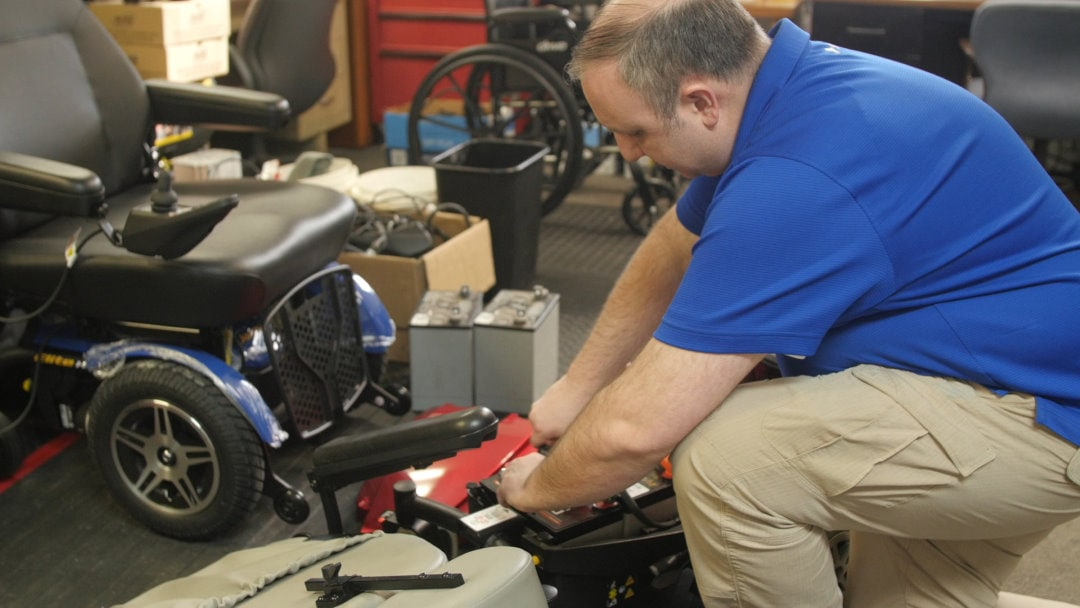 Power Wheelchair Repairs Michigan by Christian Mobility Adrian